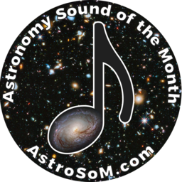 Astronomy Sound of the Month sticker